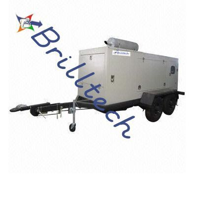 Mobile Generator, made by Brilltech is accessible with acoustic walled in area and in reach shifting between 15 KVA To 2000 KVA. A mobile generator set is a mobile private generation system in which a truck or trailer is equipped with a power plant, alternator and other incidental equipment.