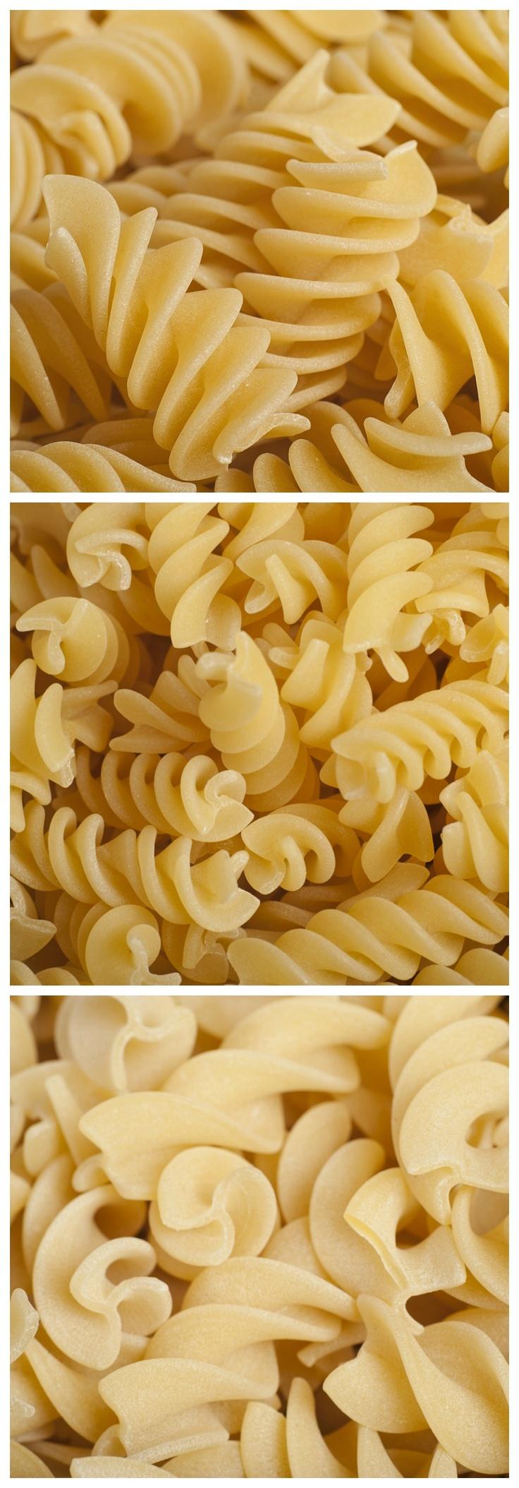 Short Pasta Shapes - Fusilli