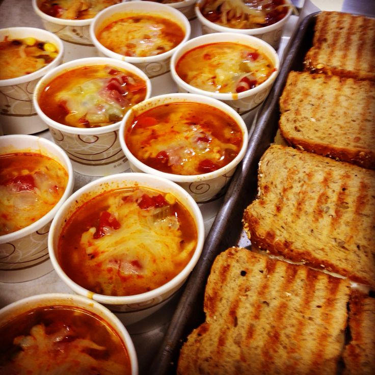Chicken Tortilla Soup & Grilled Cheese Panini · School CafeSchool MenuSchool  ...