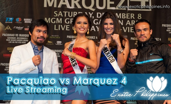 Pacquiao vs Marquez 4 live streaming http://www.exoticphilippines.info/2012/12/pacquiao-vs-marquez-4-live-streaming.html