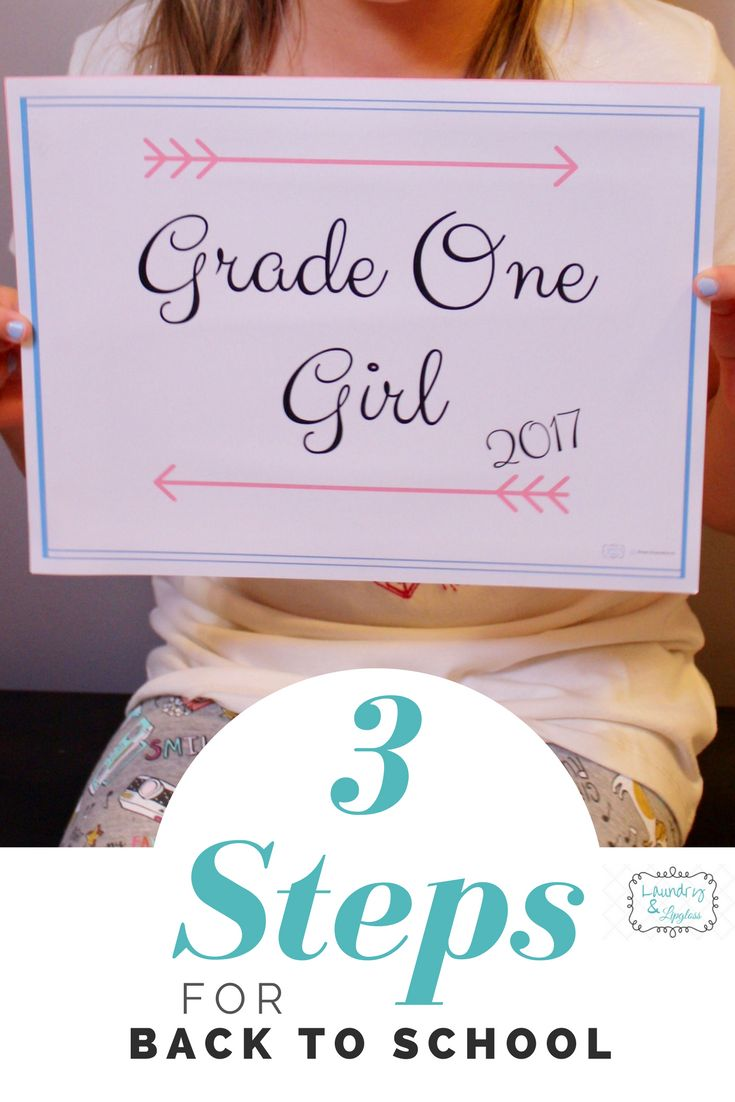Back-to-School photo prop, Free Printables!