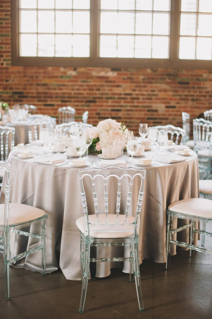 Wedding decor with ghost chairs   best Wedding Reception images on Pinterest  Wedding ideas