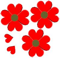 Heart Poppies - Veterans/Remembrance Day - November - KinderArt