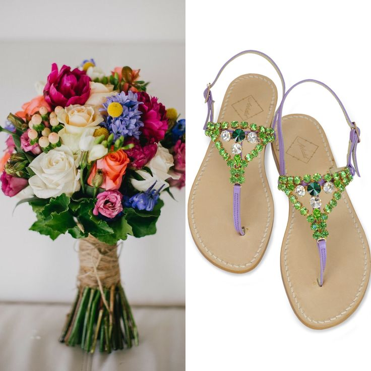 Swarovski crystal sandals for Mother's Day. Beautiful leather and available in flats or with a little 2cm heel. Worldwide shipping. #ankalia #swarovksisandals #sandals #mothersday