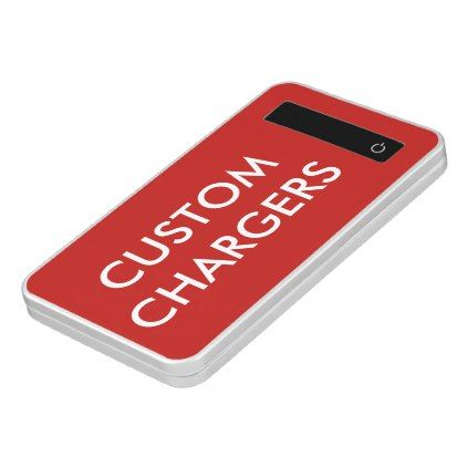 Custom Personalized 4000 mAh Portable USB Charger - create your own gifts personalize cyo custom