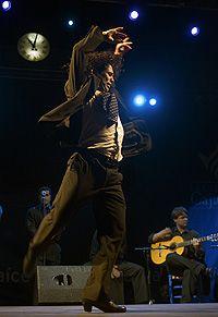 Rafael del Pino 'Keko', bailaor de flamenco y profesor del Conservatorio Profesional de Danza 'Luis del Río de córdoba. Foto: Toni Blanco.