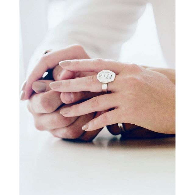 One for the ring lovers - our Ubermemories Signet rings, available in various shapes. Engrave it with words, dates or your favourite symbol.www.uberkate.com.au