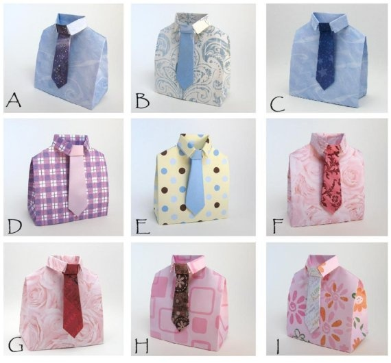 Shirt And Tie Gift Box Template Imgkid The Image Kid Has