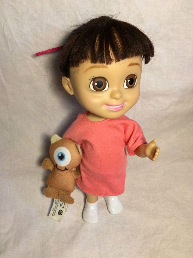 Monster Inc., University _Talking Giggling Boo Doll & Teddy Bear Cyclop Micky  #MonsterInc