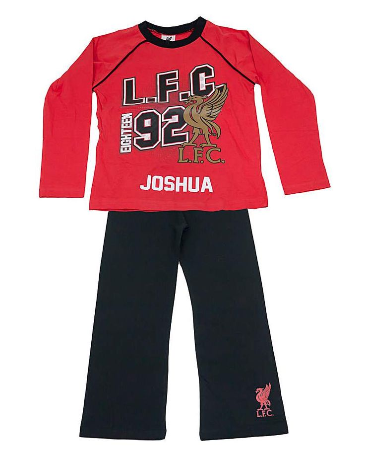 The Brilliant Gift Shop Personalised Childrens Liverpool FC Pjs Official Licensed personalised pyjamas. Can be personalised with up to 15 characters (including spaces and punctuation). http://www.MightGet.com/january-2017-13/the-brilliant-gift-shop-personalised-childrens-liverpool-fc-pjs.asp