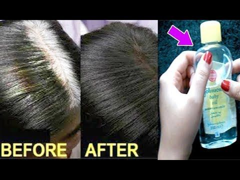 Apply It 1 Night White Hair Turn To Jet Black Permanently 100 Working Everyday Culture Youtube Grey Hair Remedies Grey Hair Home Remedies Hair Remedies