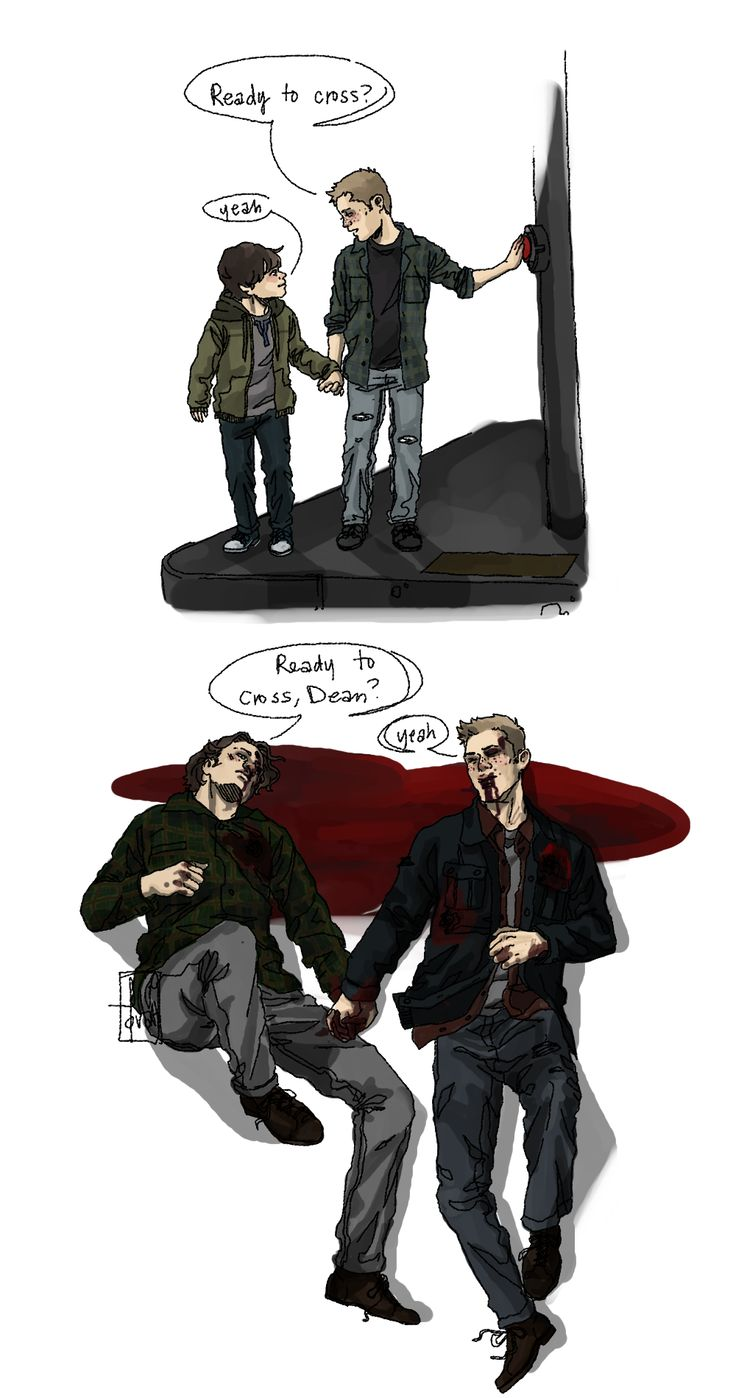 """""""Ready to cross?"""" 