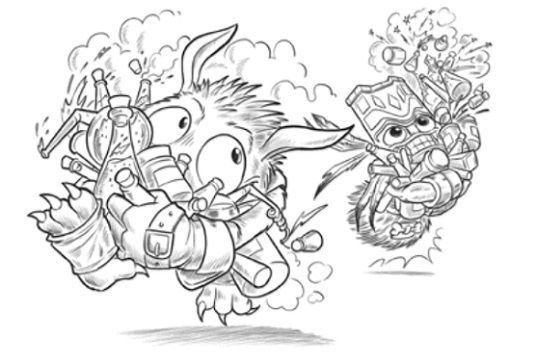 Pop Fizz | Skylanders | Coloring pages, Adult coloring pages ...