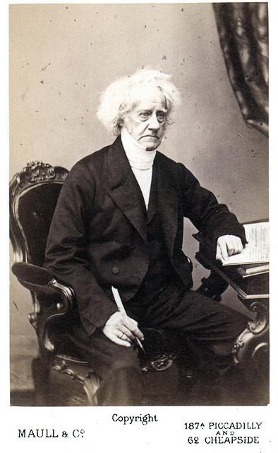 Portrait of John Frederick William Herschel (1792-1871): Astronomer, Physicist, Chemist by Smithsonian Institution, via Flickr
