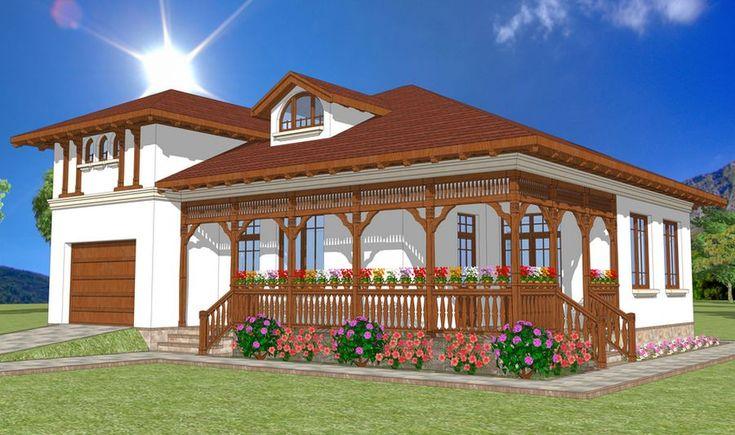 Proiecte de case in stil neoromanesc