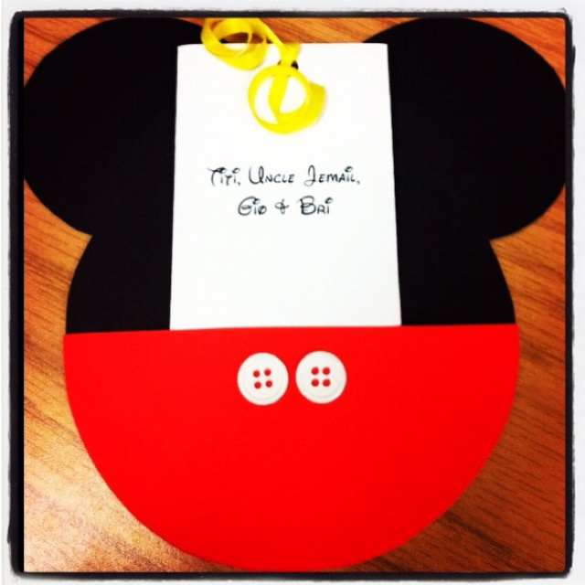 18 best Mickey Mouse Clubhouse Two dles Party images on – Handmade Mickey Mouse Birthday Invitations