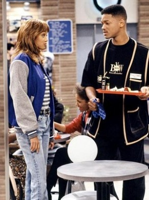 The Fresh Prince is when my love for Tyra started...
