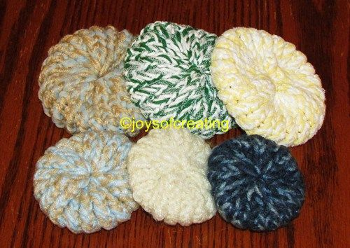 Loom Knit Kitchen Scrubbies