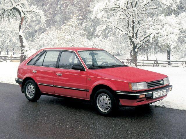 Mazda 323 5-door (1985 – 1989).