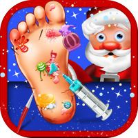 A Santa's Foot Spa Salon - Little Doctor Saves the Christmas Presents 2015 by Go Free Games - Best Top Fun Apps