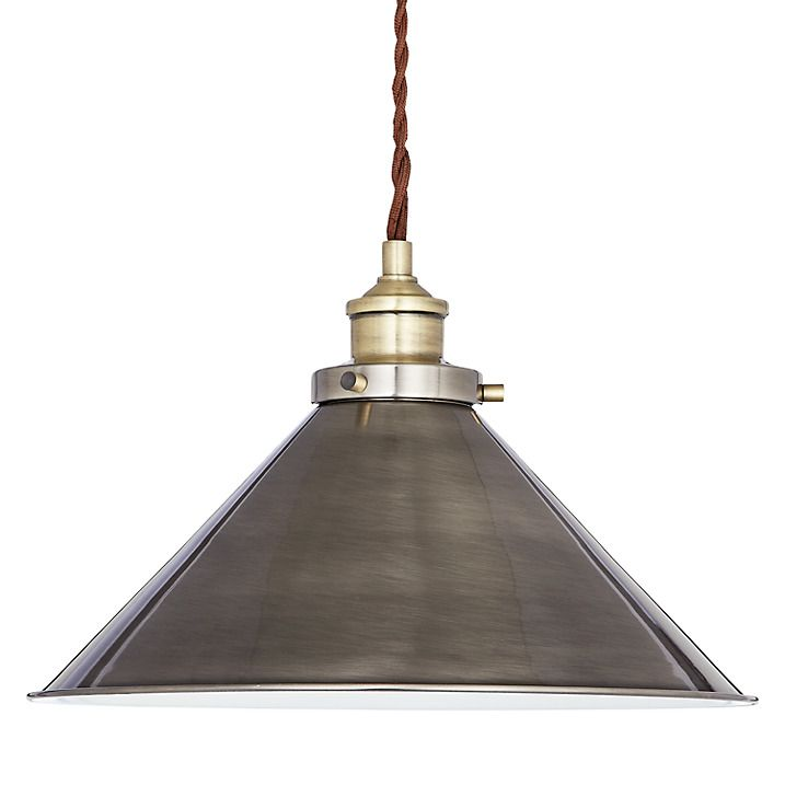 Buy John Lewis Tobias Resto Pendant Ceiling Light Online At Johnlewis