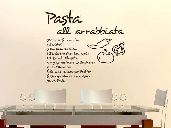22 best Wandtattoo Küche Kochen, Würzen, Essen! images on - wandtattoos küche kaffee