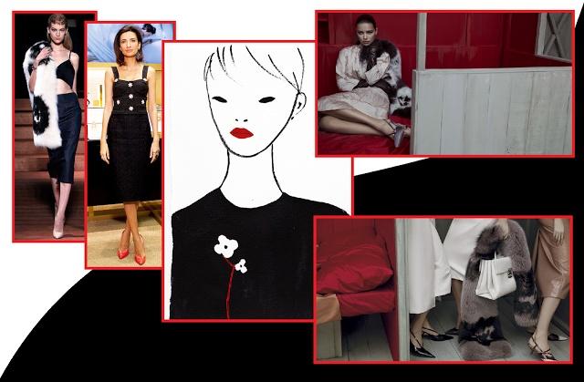Miu Miu Spring 2013 Ready-to-Wear, Снежана Георгиева,  Prada spring 2013 ready-to-wear buro247.ru, весенне-летняя кампания Miu Miu