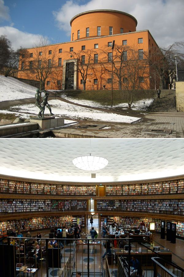 Stockholm Public Library  The 25 Most Beautiful Public Libraries in the World – Flavorwire
