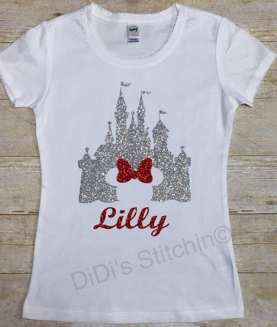 Kids T-Shirt Castle Disney White