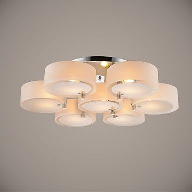 Ecolight™ Flush Mount Modern Contemporary 7 Lights Ceiling Light Kids Room Entry  Hallway  Metal