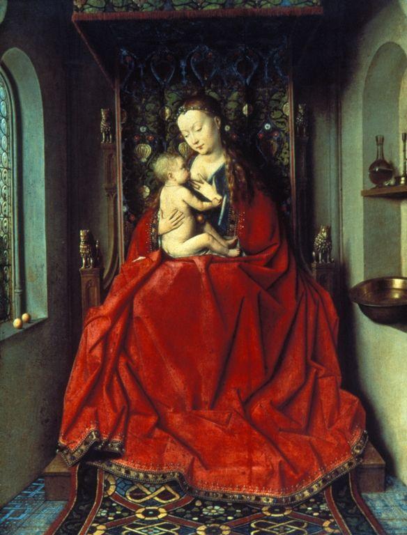 Lucca-Madonna - Jan van Eyck, c. 1437