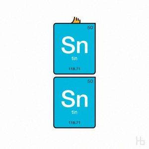 Tin Tin, in Periodic Table form
