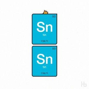 Tin Tin, in Periodic Tableform