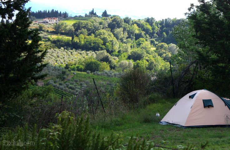 Tuscany - need we show you any more? Campeggio Panorama del Chianti, Certaldo, Firenze - Pitchup.com