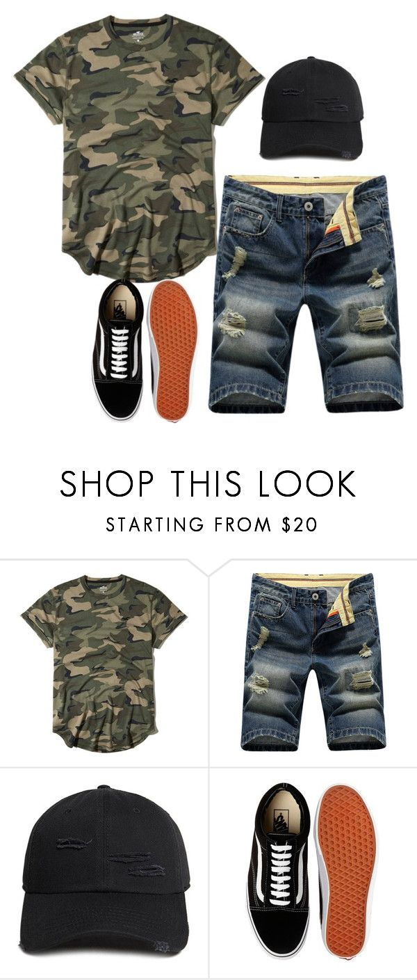 """."" by laysa-de-oliveira-leite on Polyvore featuring Hollister Co., 21 Men and Vans"