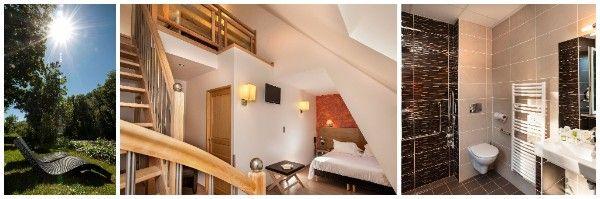 Venez profitez des belles journées d'automne pour vous reposez à l'Hôtel Les 2 Rives, détente au bord du Lot #Automne #Lot #HotelLes2Rives