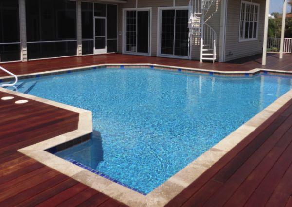 above ground pool decks build your dream backyard above ground pool decks luxury looks. Black Bedroom Furniture Sets. Home Design Ideas