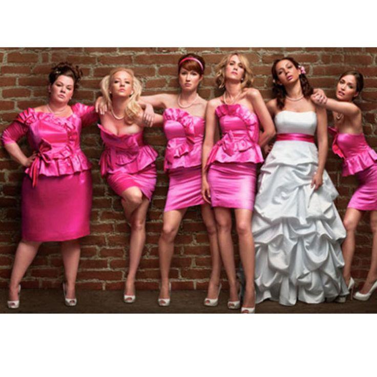 Дешевое 2015 атласная группа платье подружки невесты линия зубчатый с плеча мини короткие розовый атласная свадебное ну вечеринку платье платье подружки невесты, Купить Качество Платья подружек невесты непосредственно из китайских фирмах-поставщиках:        Добро пожаловать leondo \\\\\\\ магазин             Примечание: из-за дисплей компьютера причинам, там будет небо