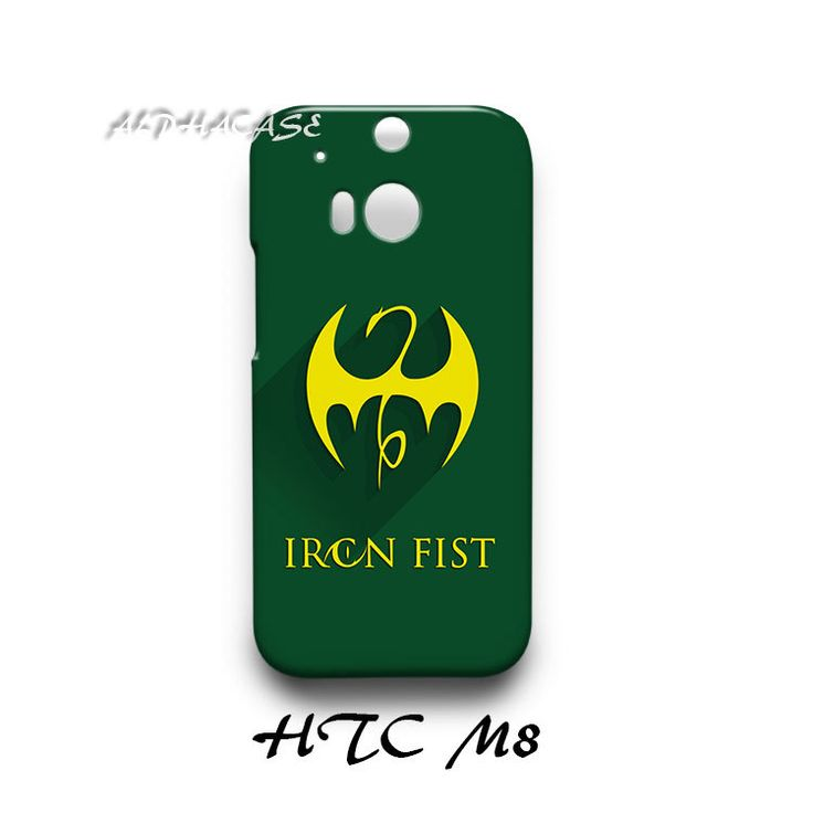 Iron Fist Superhero HTC M8 Hardshell Case