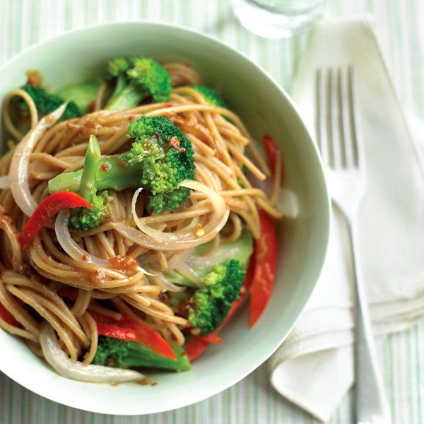 Lighter Sesame Noodles Recipe   Recipes to Try   Pinterest   Sesame ...