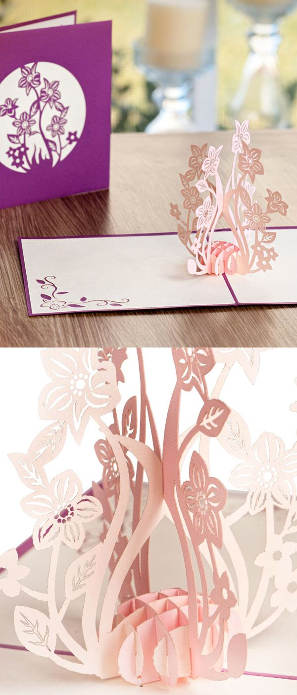 Kiss those impersonal drugstore cards goodbye. Each LovePop pop-up card is laser-cut and handmade to be an intricate expression of affection from you to the people you care most about.  http://lovepopcards.com/collections/thank-you/?orderby=popularity&utm_source=Pinterest&utm_medium=1.18P