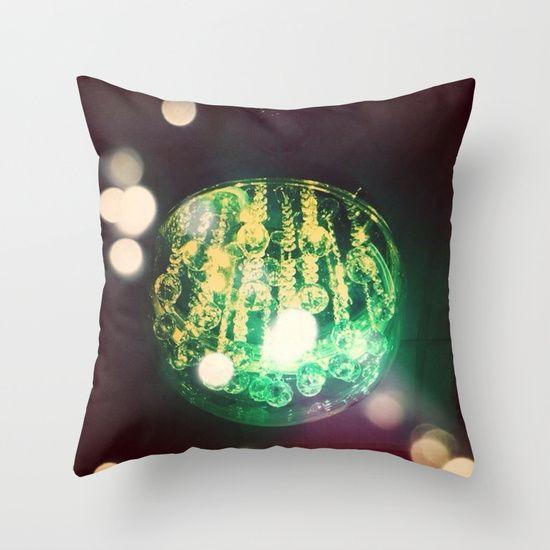 UFO+ORB+Throw+Pillow+by+Parastar+Arts+-+$20.00