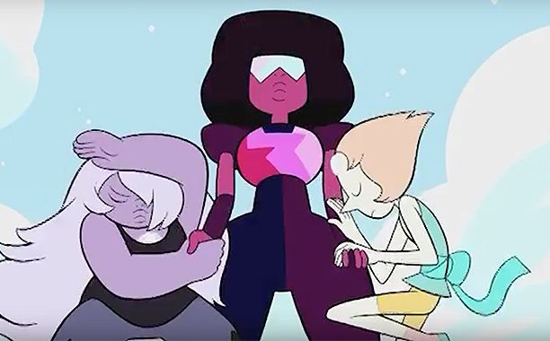"Here's something for the people of this world to believe in: Steven Universe will be back this May.  After a long hiatus, a four-week Steven Universe event titled ""In Too Deep"" will kick off May 12, and EW has the exclusive first look at the teaser, above."
