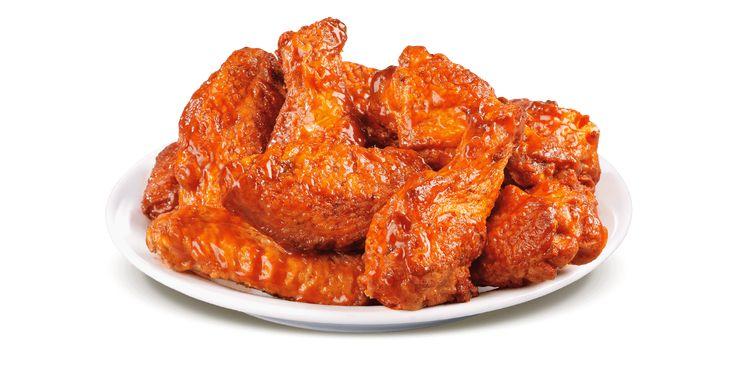 #Chicken #Wings: Crispy Crunchy chicken in bbq sauce make you go wow! Yummy.