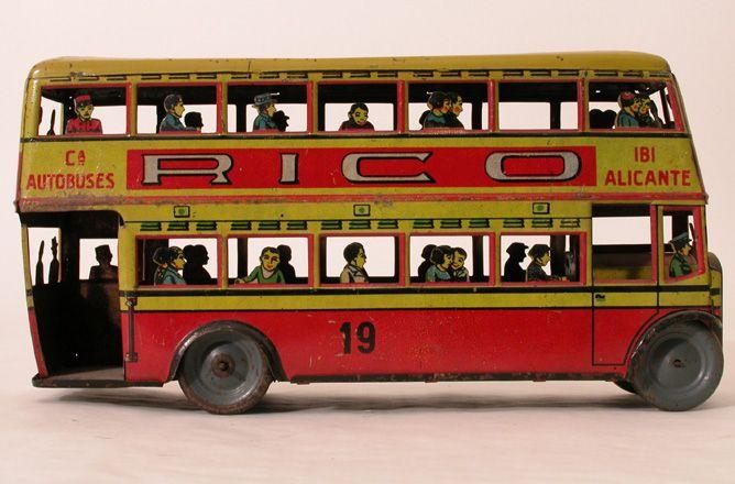 Autocarro, Autocarro de fabrico espanhol RICO, c.1930