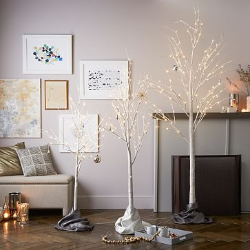 LED Trees - Ivory #westelm