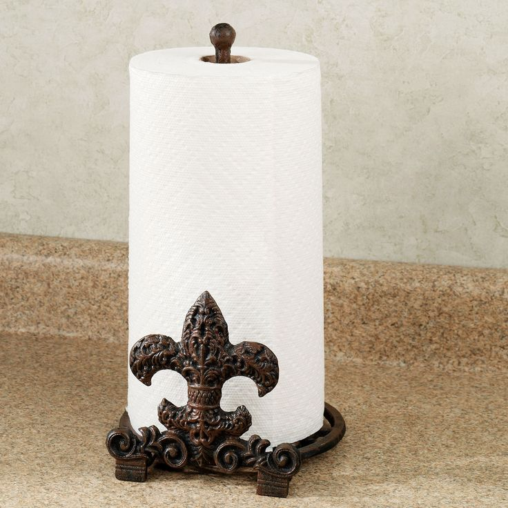 300 best images about gift ideas on pinterest tassels wall fountains and canister sets - Fleur de lis towel rack ...