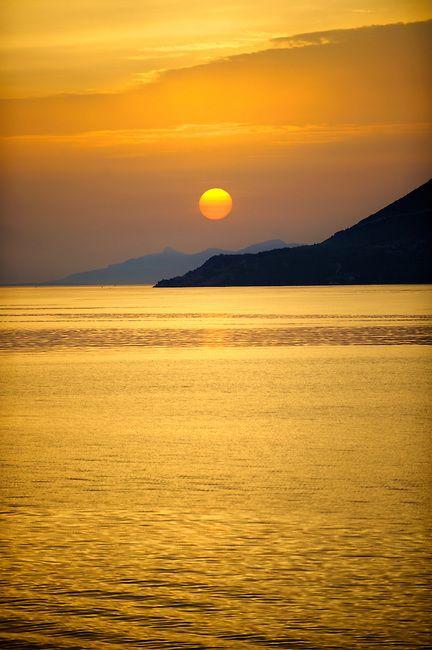 Sunset Korcula Island, Croatia