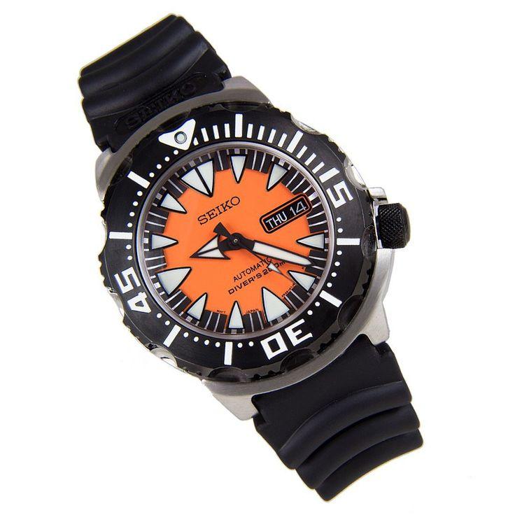 Sports Watch Store - Seiko Automatic Monster Diver Watch SRP315K1, $168.00 (http://www.sports-watch-store.com/srp315k1/)