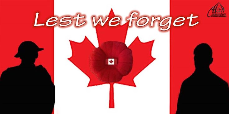 :Lest we forget